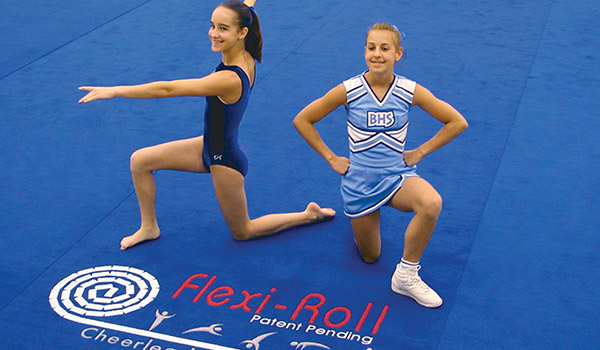 flexiroll carpet mats cheerleading gymnastics