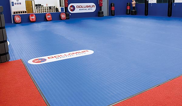 dollamur flexiroll flexiconnect karate dojo mats
