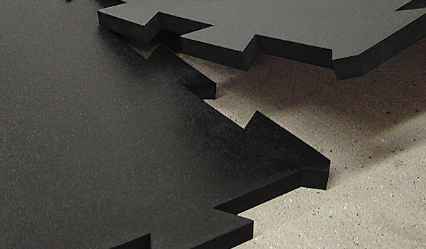 sport floor interlocking rubber tiles